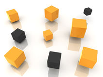 ManycubesOrange Stock Photo
