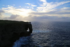 Manza Cape in Okinawa, Japan Stock Photo