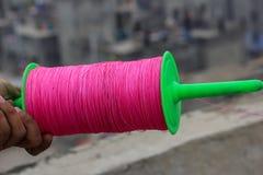 Manza con firki plástico Imagenes de archivo