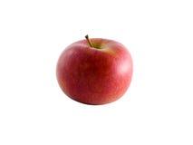 Manzana aislada de Braeburn con el camino de recortes Fotos de archivo