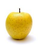 Manzana amarilla Imágenes de archivo libres de regalías