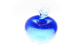 Manzana azul Imagenes de archivo