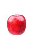 Manzana brillante Aislado en un fondo blanco Imagen de archivo libre de regalías