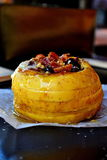 Manzana cocida al horno Foto de archivo libre de regalías