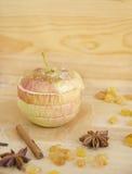 Manzana cocida al horno Imágenes de archivo libres de regalías
