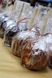 Manzana de caramelo Foto de archivo libre de regalías