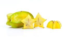 Manzana de estrella madura Imagen de archivo libre de regalías