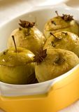 Manzana de la carne asada Fotografía de archivo libre de regalías