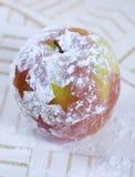 Manzana de la Navidad imágenes de archivo libres de regalías