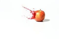 Manzana del chapoteo Foto de archivo