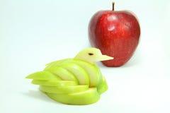 Manzana del cisne Foto de archivo