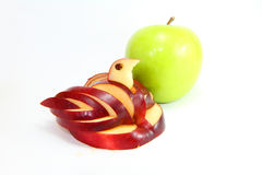 Manzana del cisne Imágenes de archivo libres de regalías