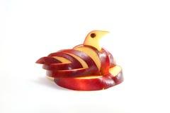 Manzana del cisne Fotografía de archivo