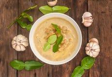 Manzana del pino del curry con cerdo Imagen de archivo libre de regalías