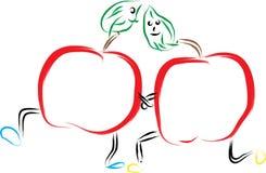 Manzana dos libre illustration
