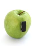 Manzana electrónica Imagenes de archivo