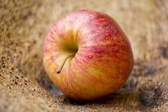 Manzana etiquetada orgánica Fotografía de archivo libre de regalías
