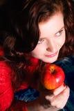 Manzana fresca Imágenes de archivo libres de regalías