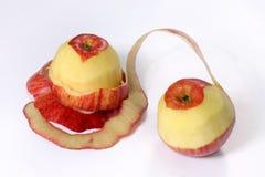Manzana fresca de los pares imágenes de archivo libres de regalías