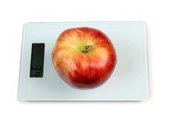 Manzana grande en escalas Imagen de archivo libre de regalías