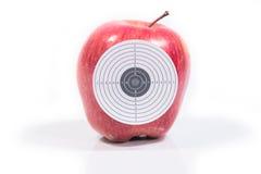 Manzana madura de la blanco Fotografía de archivo libre de regalías