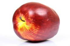 Manzana madura roja Fotografía de archivo