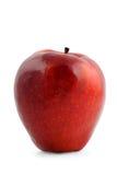 Manzana madura roja grande Imagenes de archivo