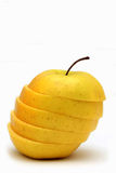 Manzana rebanada Imagen de archivo
