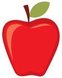 Manzana roja stock de ilustración