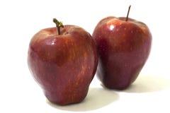 Manzana roja Imágenes de archivo libres de regalías