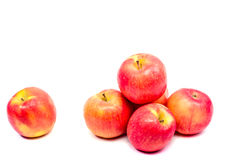 Manzana roja aislada foto de archivo