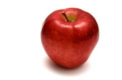 Manzana roja en blanco Imágenes de archivo libres de regalías