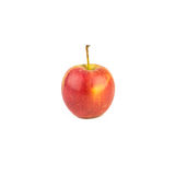 Manzana roja en el fondo blanco Imágenes de archivo libres de regalías