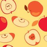 Manzana roja inconsútil Fotos de archivo