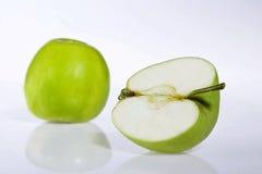 Manzana verde fotos de archivo