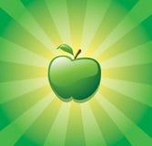 Manzana verde Stock de ilustración