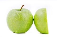 Manzana verde Fotos de archivo libres de regalías