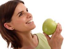 Manzana verde fotografía de archivo