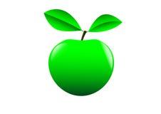 Manzana verde ilustración del vector