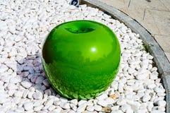 Manzana verde grande Imagen de archivo libre de regalías