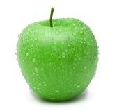 Manzana verde madura Imágenes de archivo libres de regalías