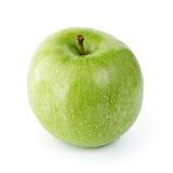 Manzana verde madura Foto de archivo libre de regalías