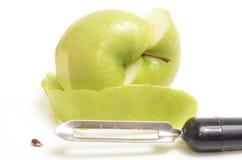 Manzana verde sana fresca Fotos de archivo libres de regalías