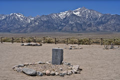 Manzanar Cemetery Stock Photos