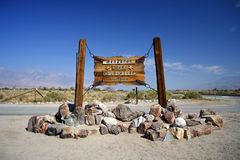 Manzanar Entrance Royalty Free Stock Photography