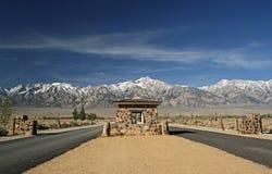 Manzanar Guard Gate Royalty Free Stock Photography