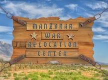 Manzanar Internment Camp Royalty Free Stock Photo