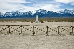 Manzanar monument Royalty Free Stock Photos