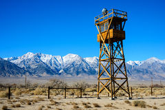 Manzanar National Historic Site Royalty Free Stock Photo