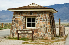 Manzanar sentry post Stock Images